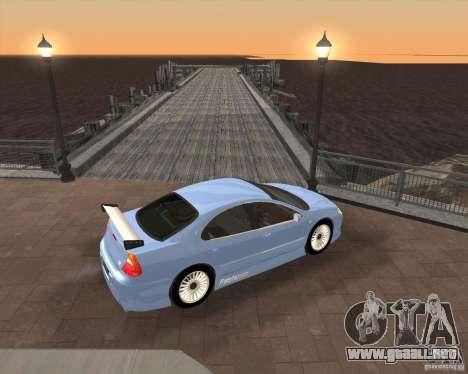 Chrysler 300M tuning para GTA San Andreas vista posterior izquierda