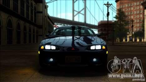 Mitsubishi Eclipse GSX 1999 para la visión correcta GTA San Andreas
