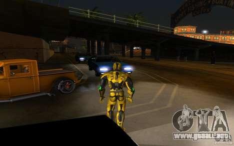 Cyrax 2 de Mortal kombat 9 para GTA San Andreas segunda pantalla