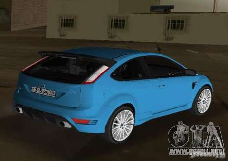 Ford Focus RS 2009 para GTA Vice City left