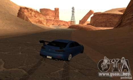 New Drift Zone para GTA San Andreas octavo de pantalla