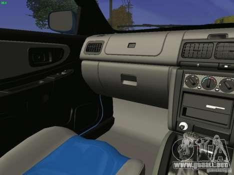 Subaru Impreza 22b Tunable para vista lateral GTA San Andreas