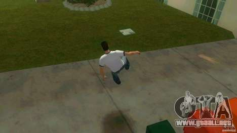Cleo Parkour for Vice City para GTA Vice City sexta pantalla