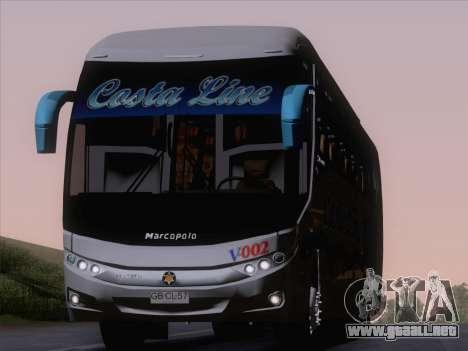 Marcopolo Paradiso 1200 G7 Volvo B12R para GTA San Andreas vista hacia atrás