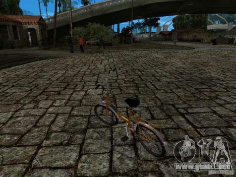 Romet Wigry 3 para vista lateral GTA San Andreas