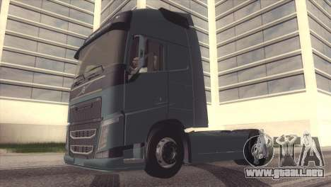 Volvo FH 2013 para visión interna GTA San Andreas