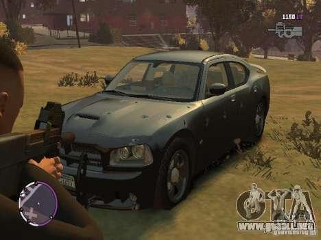 Dodge Charger SRT8 2007 FBI para GTA 4