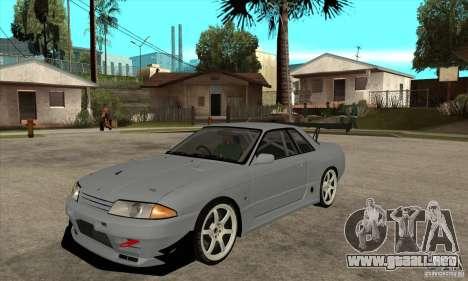 Nissan Skyline GT R R32 para GTA San Andreas