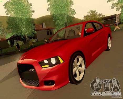 Dodge Charger SRT8 2012 para GTA San Andreas