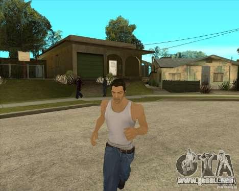 Piel Tommy Vercetti v1 FINAL para GTA San Andreas sucesivamente de pantalla
