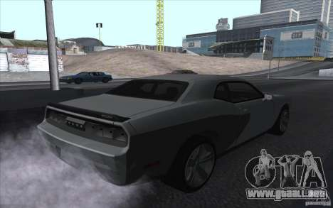 Dodge Challenger SRT8 para GTA San Andreas left