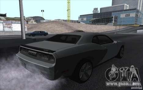 Dodge Challenger SRT8 para GTA San Andreas left