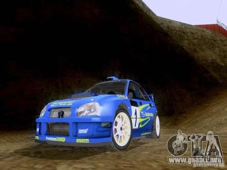 Subaru Impreza WRC 2003 para GTA San Andreas