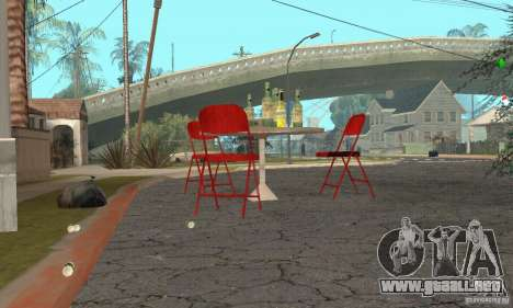 Árbol de Navidad para GTA San Andreas sucesivamente de pantalla