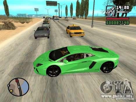 Automobile Traffic Fix v0.1 para GTA San Andreas segunda pantalla