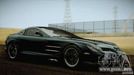 Mercedes SLR McLaren 722 Edition Final para GTA San Andreas