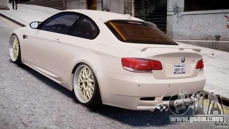BMW M3 Hamann E92 para GTA 4 visión correcta