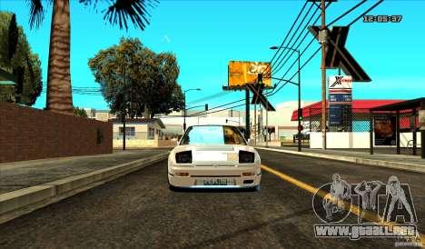 Nissan Silvia S13 Old School para la visión correcta GTA San Andreas
