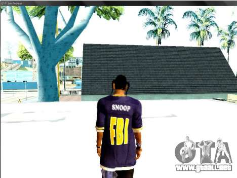 Snoop DoG del FBI. para GTA San Andreas tercera pantalla