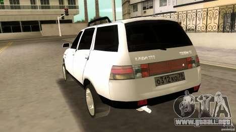 VAZ 2111 para GTA Vice City vista superior