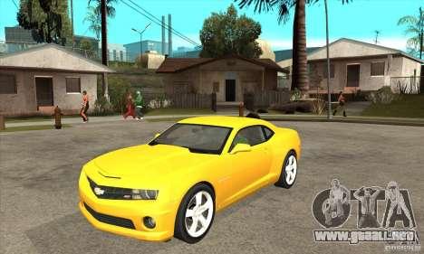 Chevrolet Camaro SS 2010 para GTA San Andreas