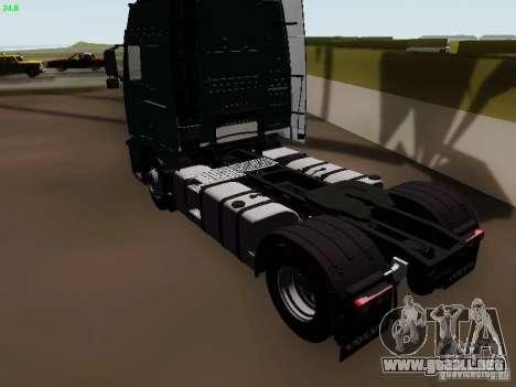 Volvo FH13 Globetrotter para la visión correcta GTA San Andreas