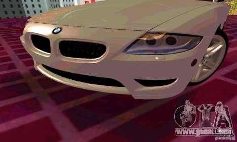 BMW Z4 E85 M para las ruedas de GTA San Andreas