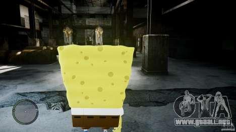 Bob esponja para GTA 4 segundos de pantalla