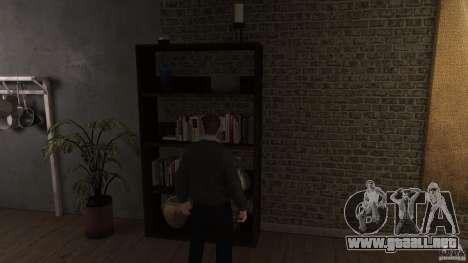 Casero suéter con cuello para GTA 4 adelante de pantalla