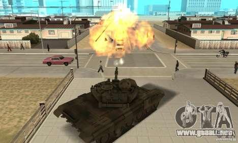 Tanques t-90 para la visión correcta GTA San Andreas