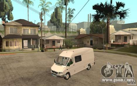 Mercedes-Benz Sprinter 313cdi para GTA San Andreas