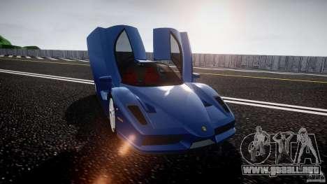 Ferrari Enzo para GTA 4 vista superior