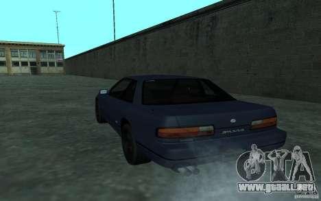 Nissan Onevia (Silvia) S13 para la visión correcta GTA San Andreas