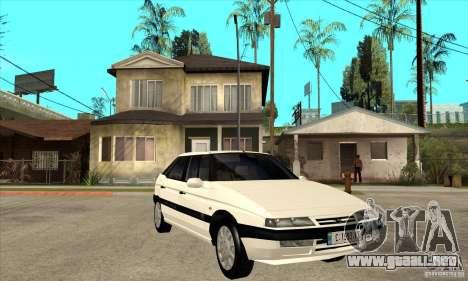 Citroen XM 1992 para GTA San Andreas vista hacia atrás