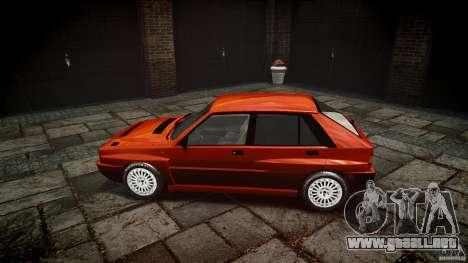 Lancia Delta HF 4WD para GTA 4 vista interior