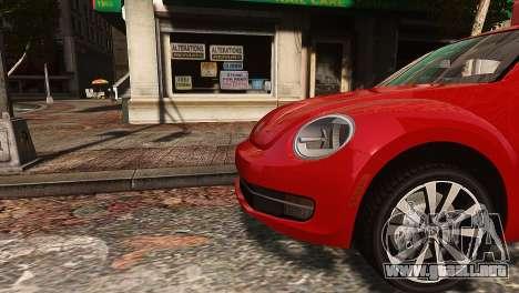 Volkswagen Beetle Turbo 2012 para GTA 4 left