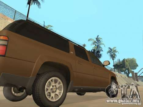 Chevrolet Suburban 2003 para visión interna GTA San Andreas