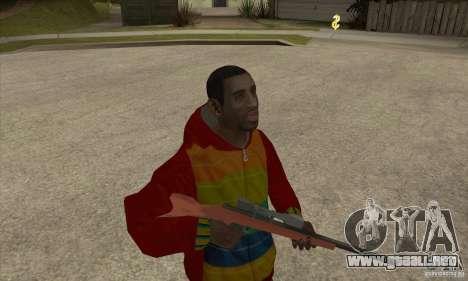 Jinete-Playboy X para GTA San Andreas segunda pantalla