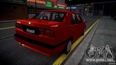 Alfa Romeo 155 Q4 1992 para GTA 4 Vista posterior izquierda