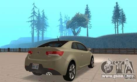 Kia Forte Koup 2010 para GTA San Andreas left