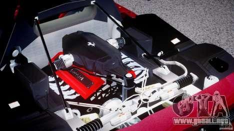 Ferrari Enzo para GTA 4 vista interior