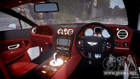Bentley Continental GT 2004 para GTA 4 visión correcta