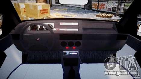 Fiat Tipo 1990 para GTA 4 visión correcta