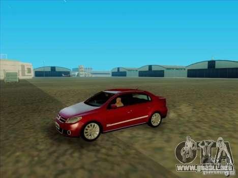 Volkswagen Voyage Comfortline 1.6 2009 para la visión correcta GTA San Andreas