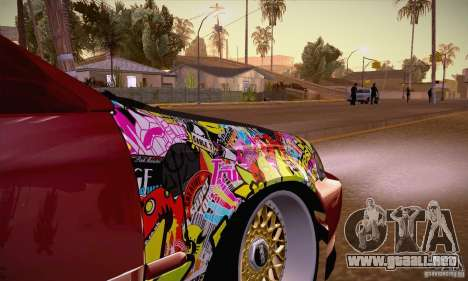 Honda Civic Tuning 2012 para visión interna GTA San Andreas
