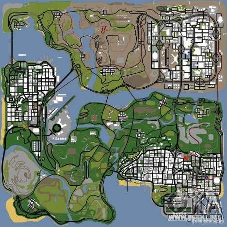 Animales en GTA San Andreas 2.0 para GTA San Andreas quinta pantalla