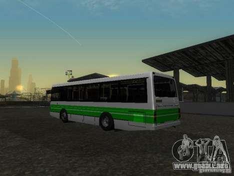 LAZ 42021 CWR para visión interna GTA San Andreas