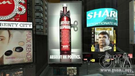 Time Square Mod para GTA 4 novena de pantalla