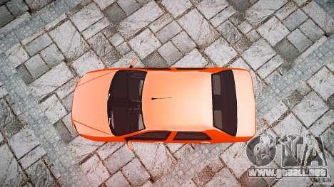 Fiat Albea Sole para GTA 4 visión correcta
