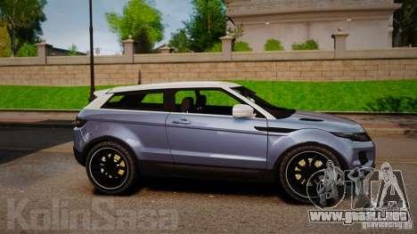 Range Rover Evoque para GTA 4 left